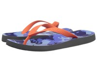 Vionic Beach Manly Blue Camo Orange Men's Sandals