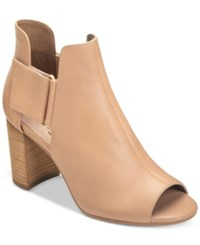 Aerosoles High Fashion Ankle Booties Women's Shoes Light Pink Leather