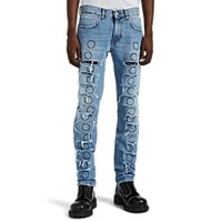 Alyx Thorn Slash Skinny Jeans Lt. Blue