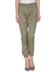 Guess By Marciano Trousers Casual Trousers Women Military Green