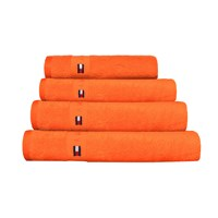 Tommy Hilfiger Plain Orange Range Towel Bath Towel
