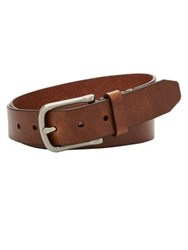 Fossil Alex Leather Belt Brown