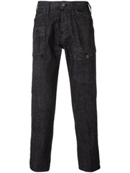 Emporio Armani Slim Fit Jeans Black