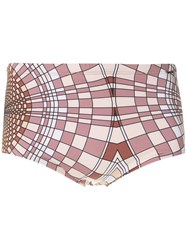 Amir Slama Cocar Print Trunks 60