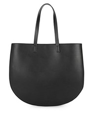 French Connection Hollis Leather Tote Black