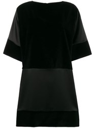 Gianluca Capannolo Contrast Panel Dress Black