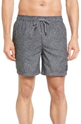 Rvca Men's Speckled Print Swim Trunks