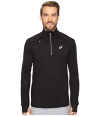 Asics Thermopolis 1 2 Zip Performance Black Men's Clothing