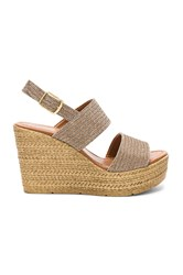 Seychelles Downtime Wedge Metallic Bronze
