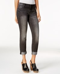 Kut From The Kloth Catherine Boyfriend Cuffed Jeans Astonished Grey