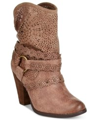Naughty Monkey Adelaide Western Booties Women's Shoes