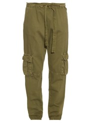Current Elliott Cargo Relaxed Fit Trousers Khaki