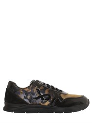 Botticelli Sport Limited Leather And Nylon Running Sneakers