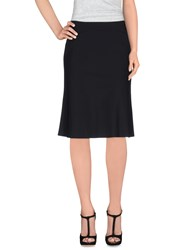Piazza Sempione Skirts Knee Length Skirts Women Black