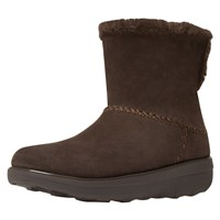 Fitflop Supercush Mukloaff Ankle Boots Chocolate