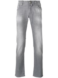 Jacob Cohen Light Wash Skinny Jeans Grey