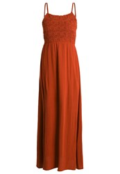 Evenandodd Maxi Dress Brown