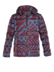 Burberry Basford Printed Down Filled Coat