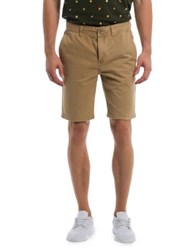 Bench Cotton Twill Shorts Dune