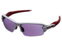 Oakley A Flak 2.0 Polished White W Prizm Road Sport Sunglasses Purple