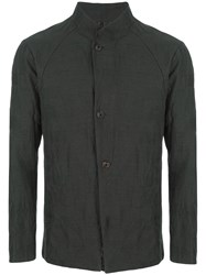 Devoa Check Jacket Grey