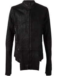 Barbara I Gongini Asymmetric Leather Jacket