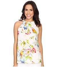 Tommy Bahama Weekend Escape Halter Top White Women's Sleeveless
