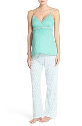 Women's Belabumbum 'Ondine' Nursing Camisole And Pants