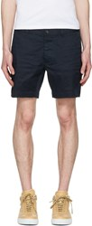Dsquared2 Navy Twill Tennis Shorts