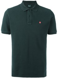 Aspesi Embroidered Logo Polo Shirt Green