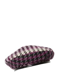 Maison Michel New Billy Acrylic And Vinyl Hat Multicolor