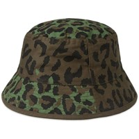 Mhi Maharishi Reversible Camo Bucket Hat Green