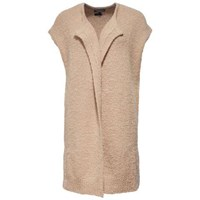 Tommy Hilfiger Porti Sleeveless Long Cardigan Brown