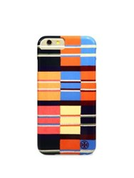 Tory Burch Rugby Stripe Hardshell Iphone 6 Case Blanket Stripe