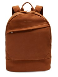 Want Les Essentiels Kastrup Nubuck Leather Backpack Brown