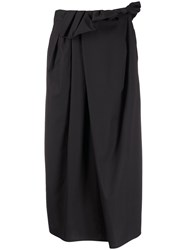 Christian Wijnants Shani Skirt Black