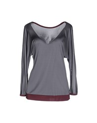 Jucca Topwear T Shirts Women Grey