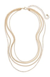 Bp. Layered Chain Necklace Gold