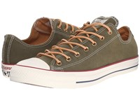 Converse Chuck Taylor All Star Peached Canvas Ox Herbal Biscuit Egret Lace Up Casual Shoes Green