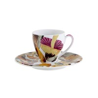 Missoni Home Champignon Coffee Cup And Saucer Set Of 2
