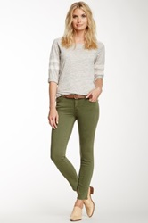 7 For All Mankind Slim Illusion Straight Leg Jean Green