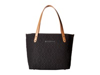 Petunia Pickle Bottom Embossed Downtown Tote Mini Bedford Avenue Stop Tote Handbags Black