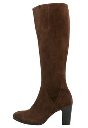 Gabor Boots Castagno Light Brown