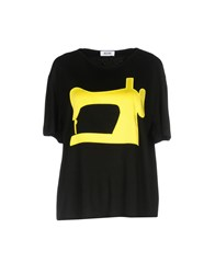 Moschino Cheap And Chic T Shirts Black