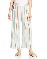 Miraclebody Jeans Miraclebody By Miraclesuit Willow Striped Wide Leg Pants Stone