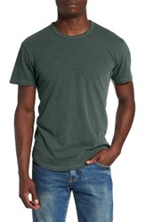 Alternative Apparel Men's 'Post Game' Crewneck T Shirt Dusty Pine