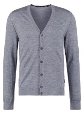 Michael Kors Cardigan Ash Melange Mottled Dark Grey
