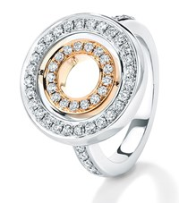 Boodles Roulette Spinning Ring Silver