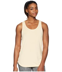 Asics Flex Tank Top Apricot Ice Heather Sleeveless Beige