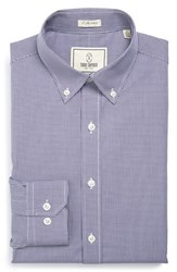 Men's Big And Tall Todd Snyder White Label Trim Fit Check Dress Shirt Purple